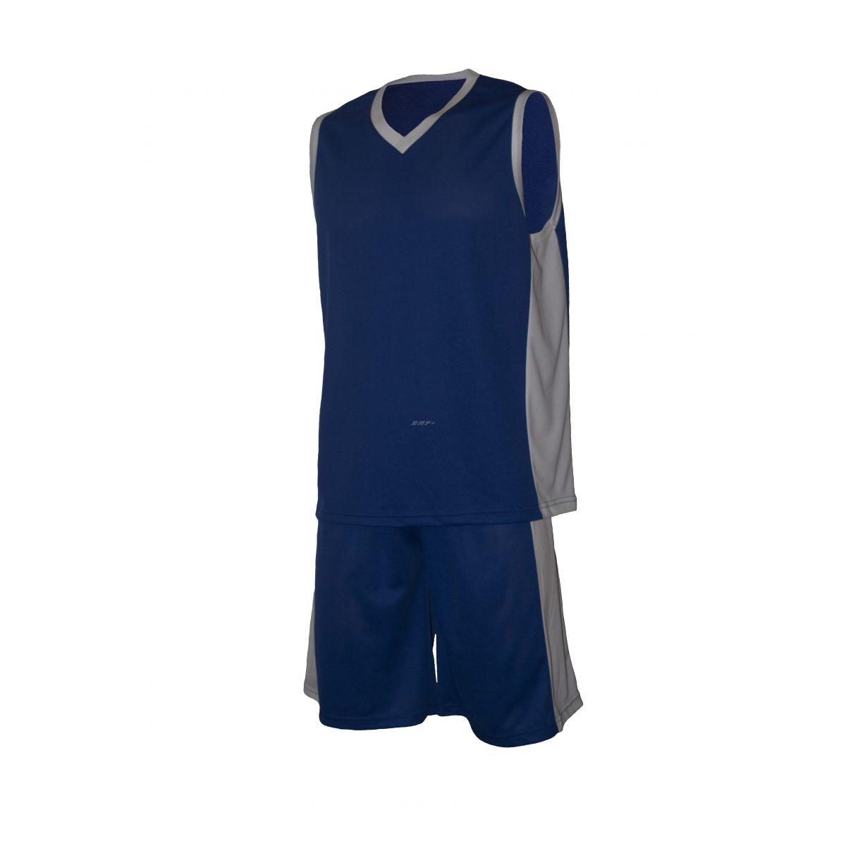 """Баскетбольная форма """"Ромул сине - белая"""""""