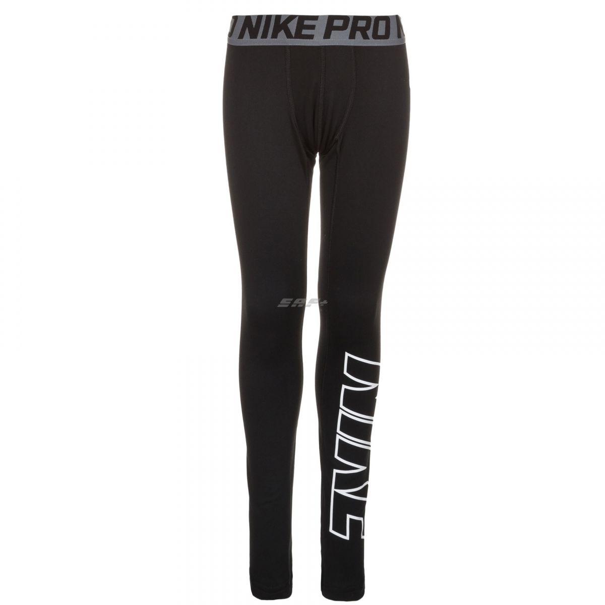 Nike Pro Брюки Warm Hbr Tight 743426-010 Jr