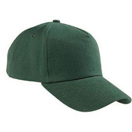 Бейсболка зелёная (велюр)