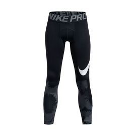 БЕЛЬЕ NIKE PRO БРЮКИ HYPERWARM TIGHT AOP JR