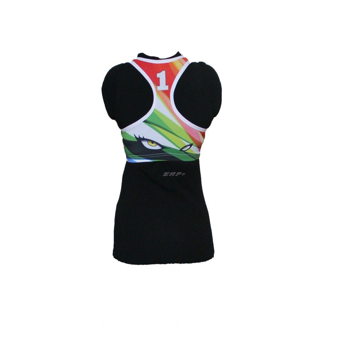 Топ женский для пляжного волейбола дизайн 0100